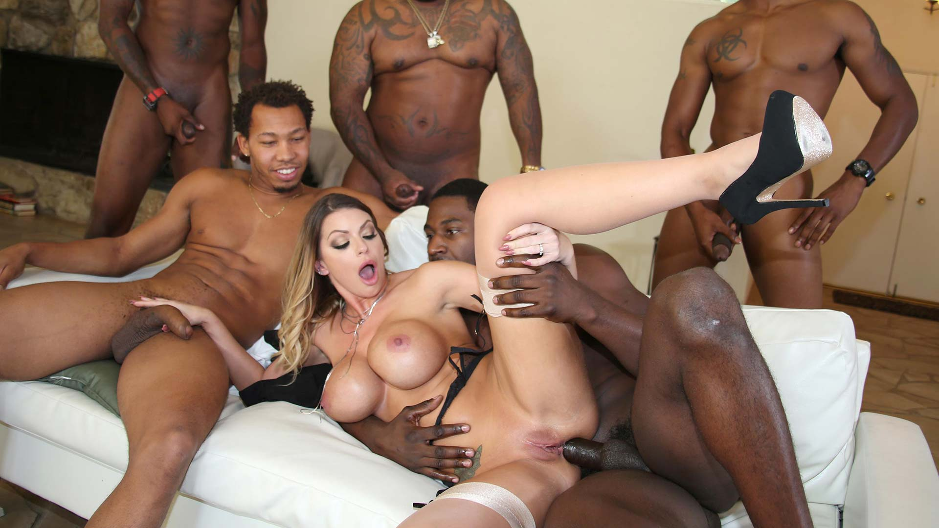 BlacksOnBlondes Brooklyn Chase Interracial Porn