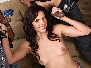 Bobbi Starr Anal GB from BlacksOnBlondes.com