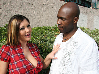 Claire Dames Anal from BlacksOnBlondes.com
