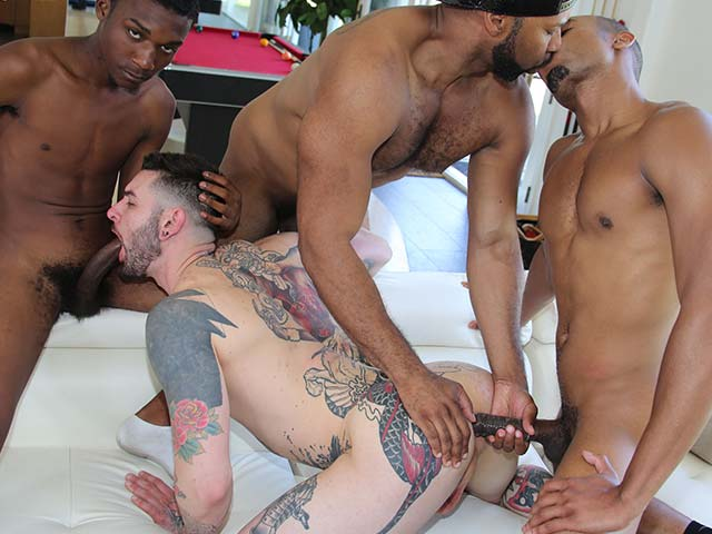 Interracial Pickups Teddy Bryce