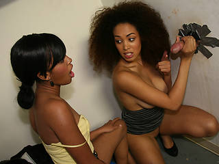 Serena Ali & Amber Steel from Gloryhole-Initiations.com