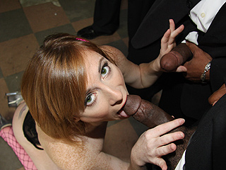 Allison Wyte from InterracialBlowbang.com