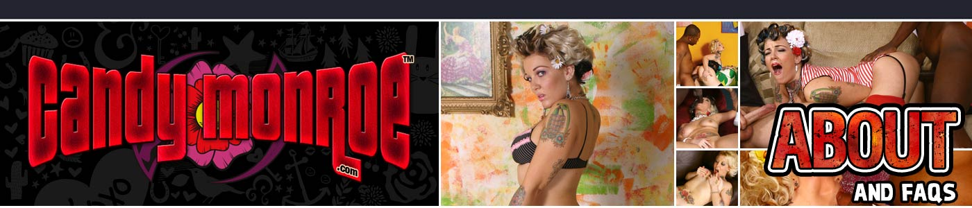 About CandyMonroe page banner
