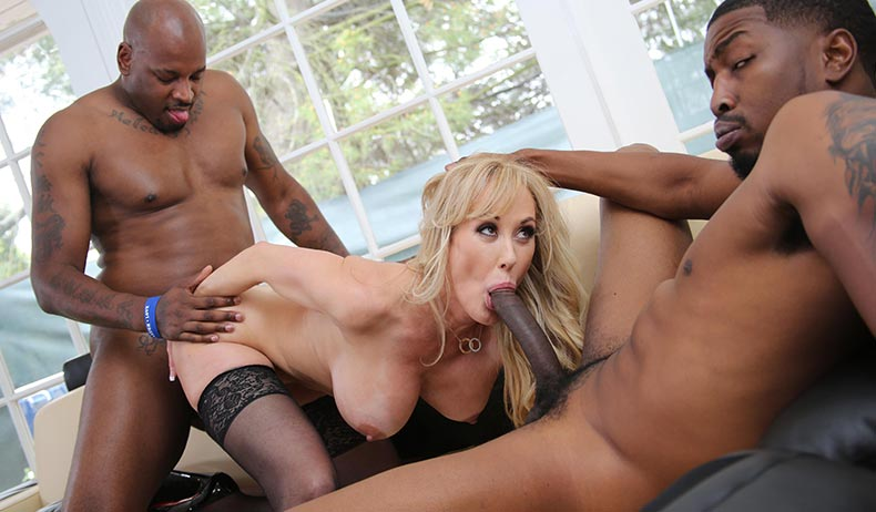Brandi Love From Blacksoncougars Com Part Of The Dogfart Network Of Interracial Porn