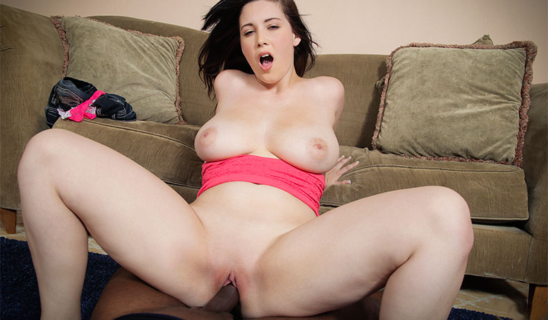 Busty noelle easton and her big tits sucking cock gif