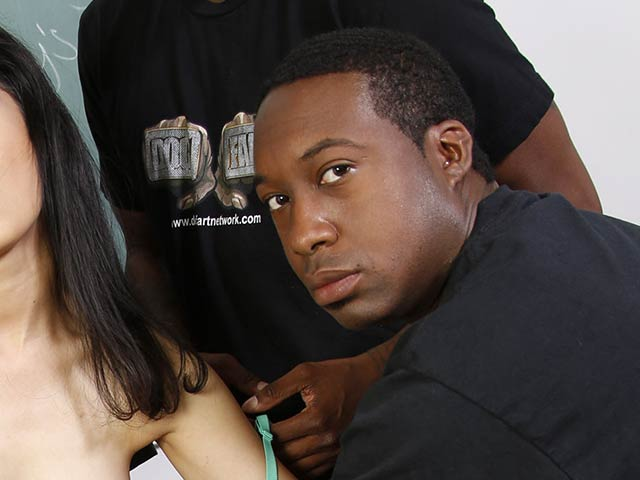 Jack Blaque from InterracialBlowbang.com