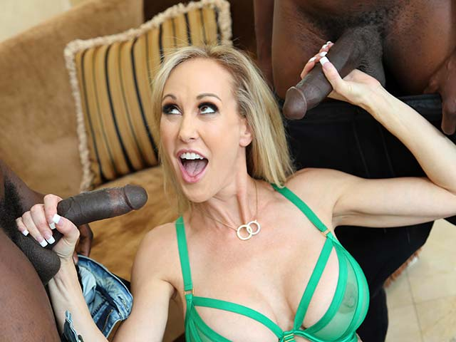 Brandi Love BTS from