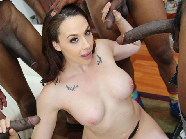 Chanel Preston BTS from BehindTheScenes