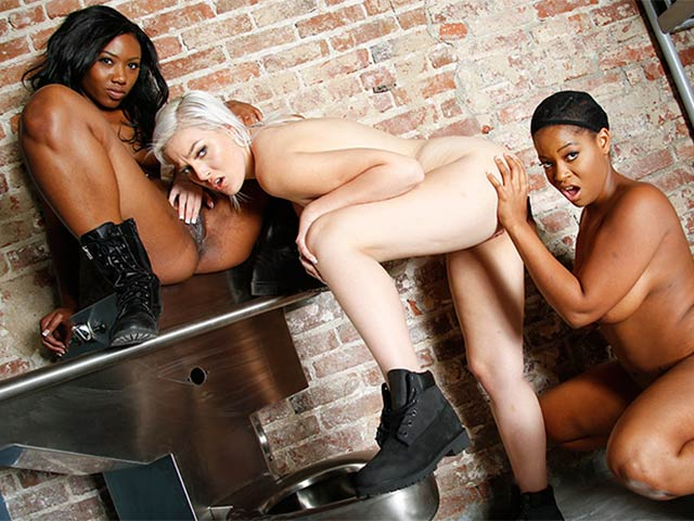 Jenna Ivory, Monique Symone and Chanell Heart BTS from BehindTheScenes