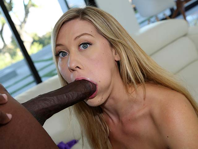 Addison Lee from BlacksOnBlondes.com
