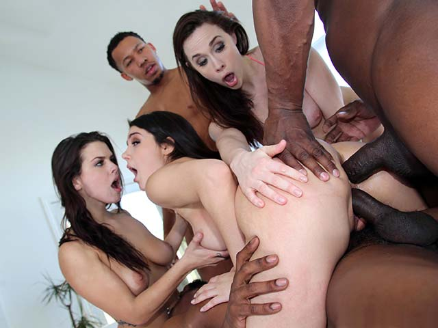 Chanel, Keisha & Valentina from BlacksOnBlondes.com