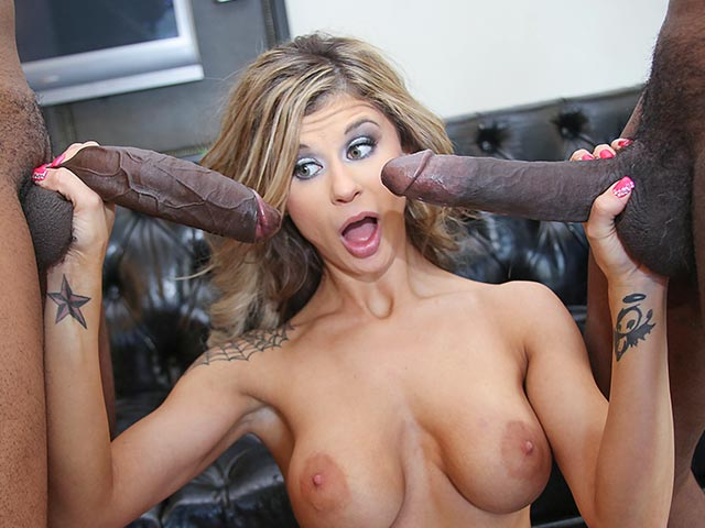 Chloe Chaos from BlacksOnBlondes.com
