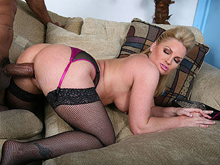 Flower Tucci from BlacksOnBlondes.com