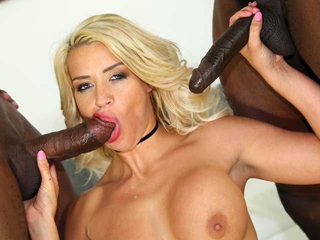 Sienna Day from BlacksOnBlondes.com