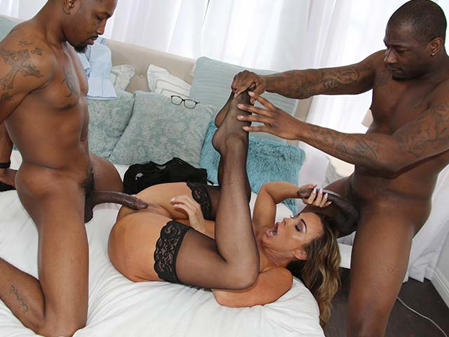Renee interracial slut college coke whore