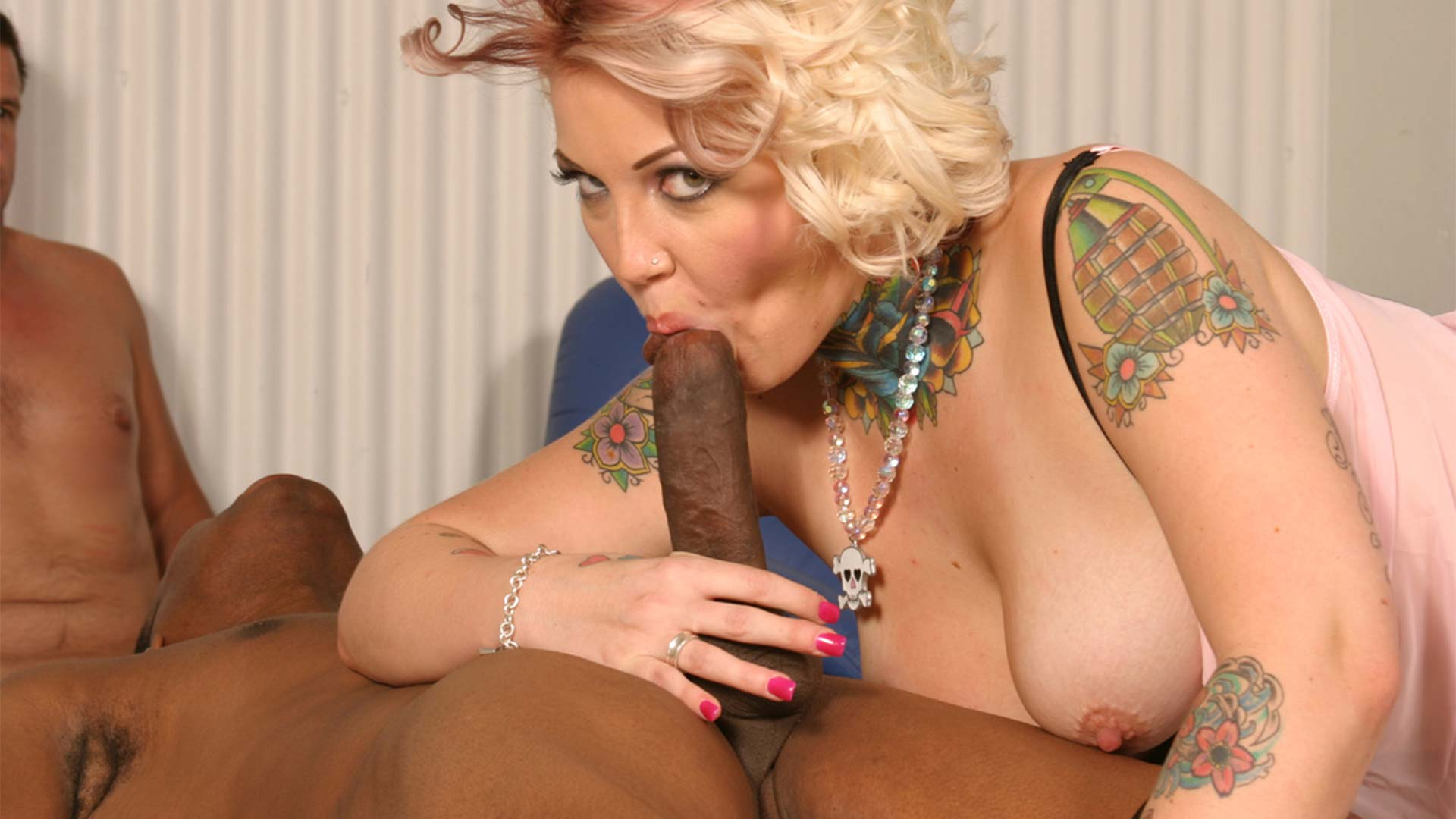 CandyMonroe Ace and Bo Interracial Porn