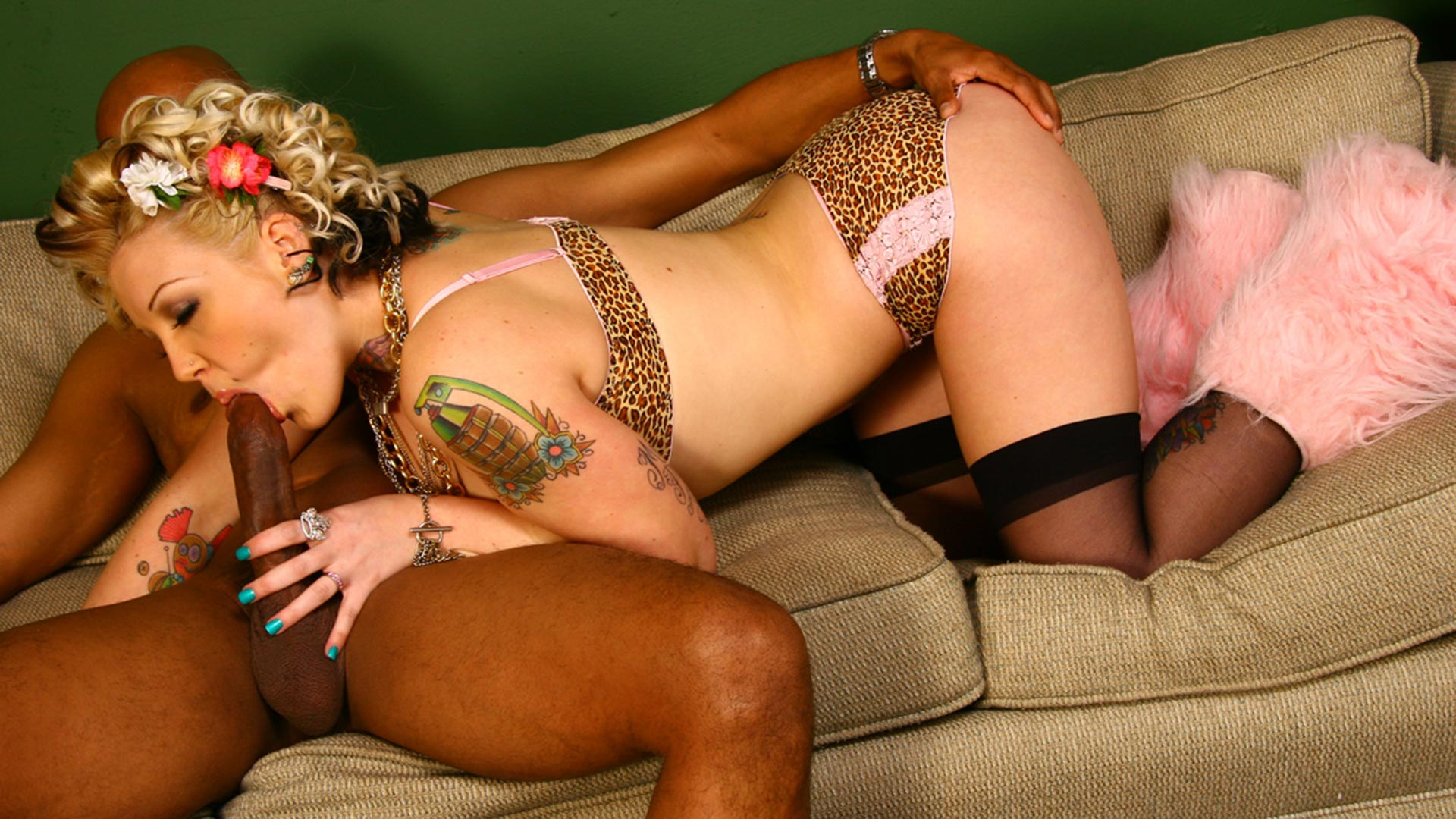 CandyMonroe Elmer and Broc Interracial Porn