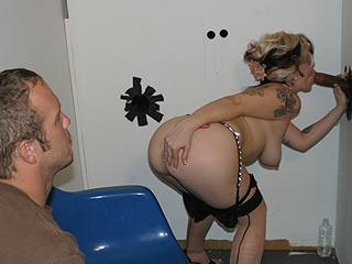 Billy Watches Me At A Gloryhole from CandyMonroe.com