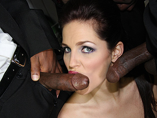 Bobbi Starr from InterracialBlowbang.com