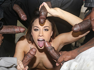 Chanel Preston from InterracialBlowbang.com