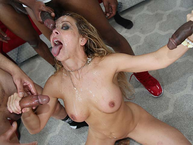 Cherie DeVille from InterracialBlowbang.com