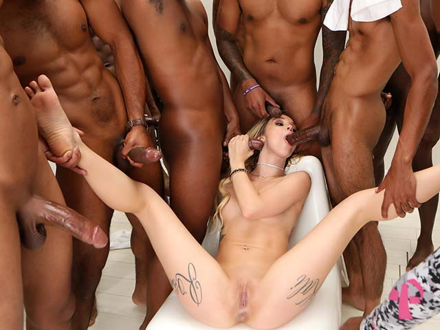 Kali Roses from InterracialBlowbang.com