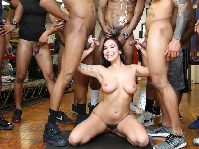 Karlee Grey from InterracialBlowbang.com