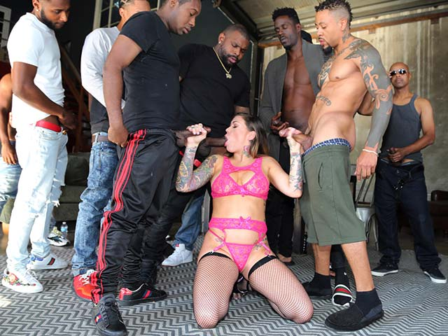 Karmen Karma from InterracialBlowbang.com