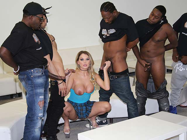 Kenzie Taylor from InterracialBlowbang.com