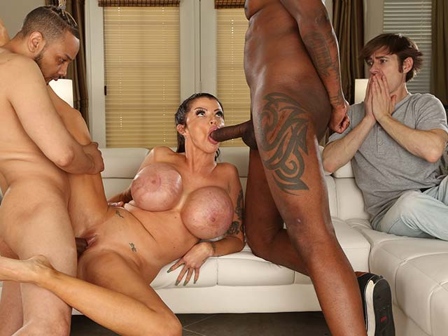 Joslyn James from WatchingMyMomGoBlack.com
