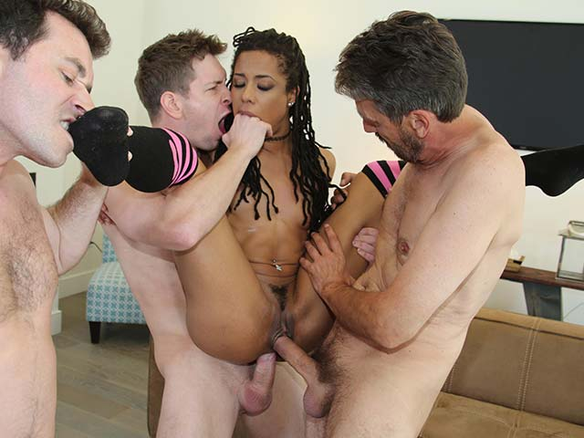 Kira Noir from WeFuckBlackGirls.com