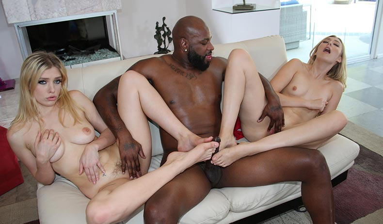 Giselle Palmer Loves Big Blak Cock